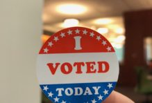 """I Voted Today"" sticker"