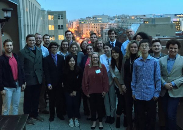 "W&M students during their ""Foreign Policy: International Development and Security"" class in D.C. this Winter Break"