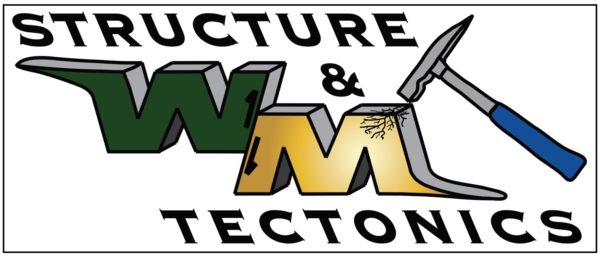 Image of the William & Mary Structural Geology & Tectonics research group logo.