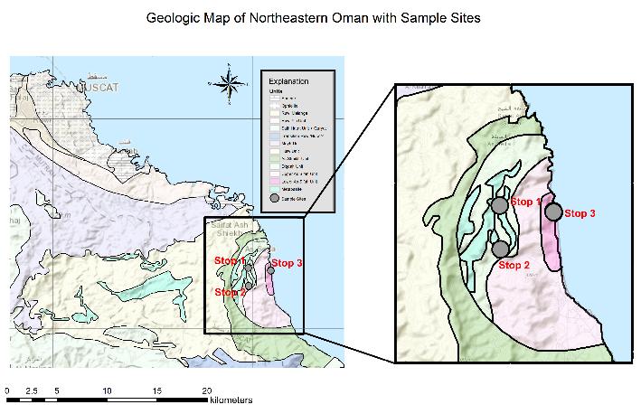 Geologic Map of Oman