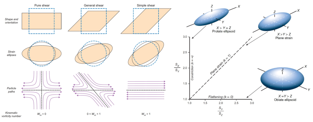 Shear and strain diagrams